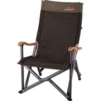 Кресло складное KOVEA FIELD LUXURY BLACK CHAIR KECR9CA-06