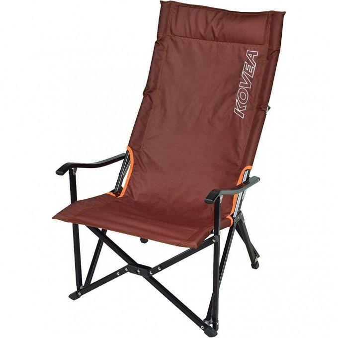 Кресло складное KOVEA LOW LONG RELAX CHAIR, коричневое KECT9CA-02BW
